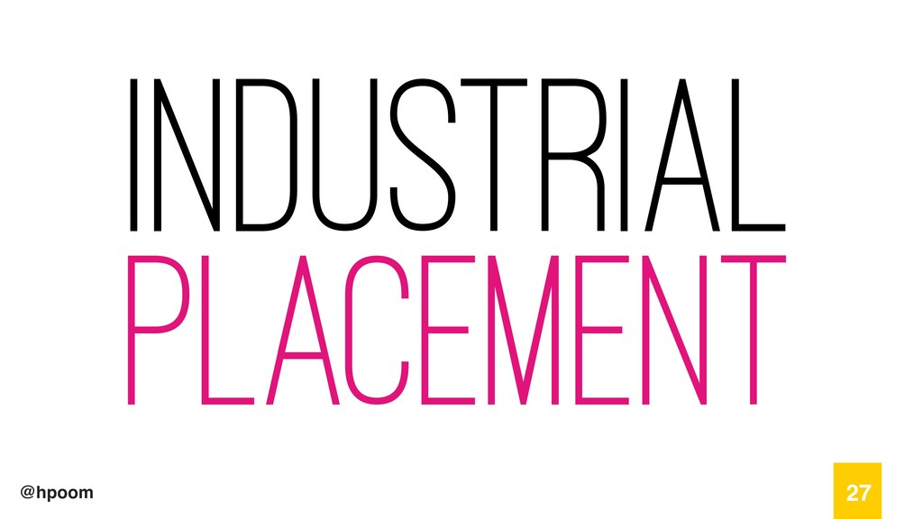 @hpoom Industrial Placement 27