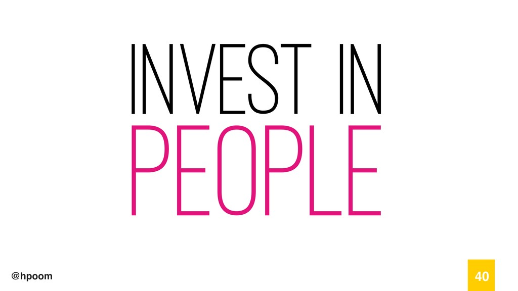 @hpoom Invest in People 40