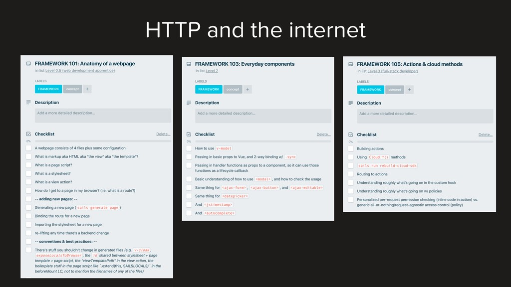 HTTP and the internet