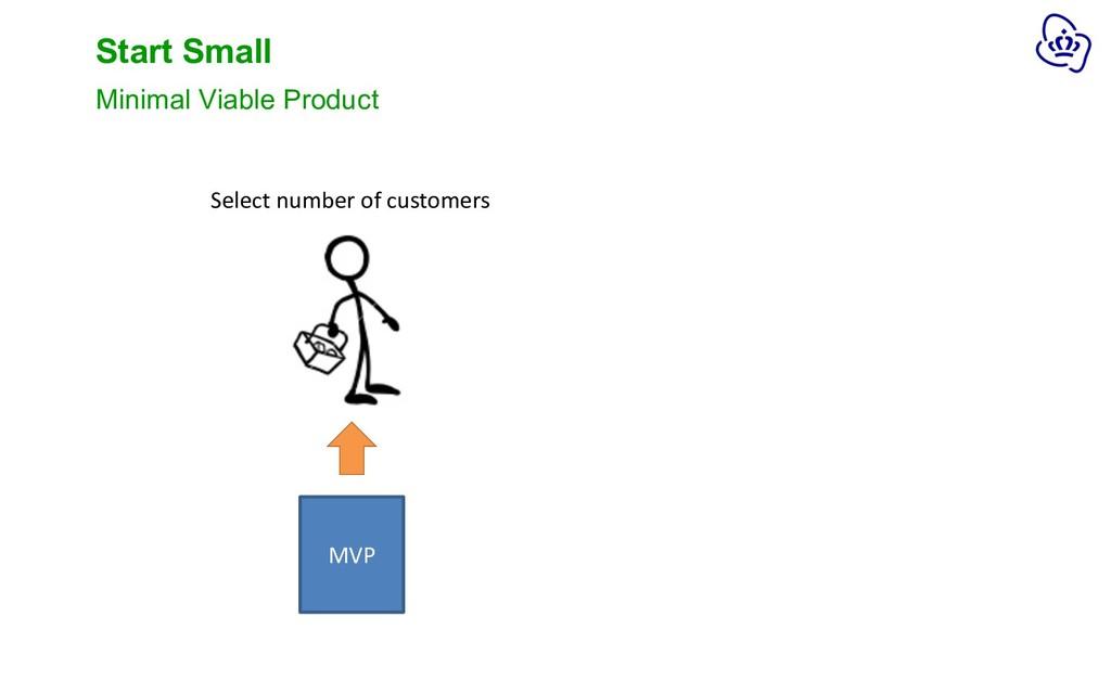 Start Small Minimal Viable Product MVP Select n...