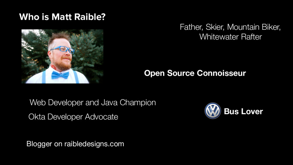 Blogger on raibledesigns.com Web Developer and ...