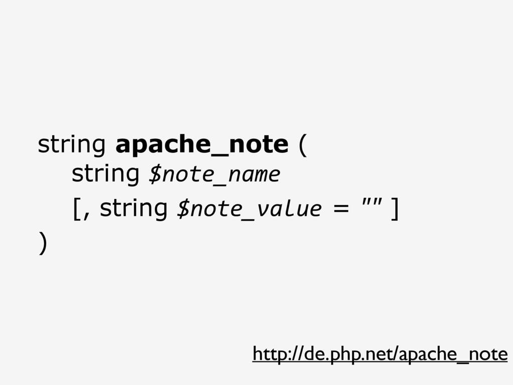 http://de.php.net/apache_note string apache_not...