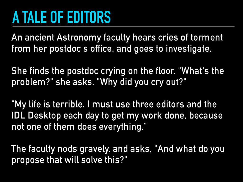 An ancient Astronomy faculty hears cries of tor...