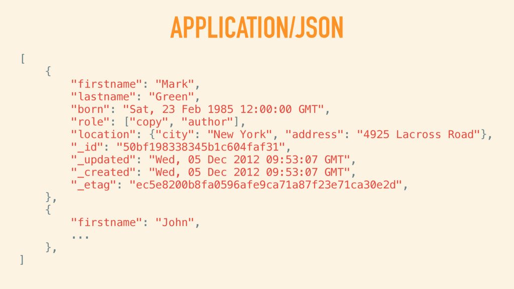JSON AND XML SERIALIZATION FOR ALL RESPONSES DE...