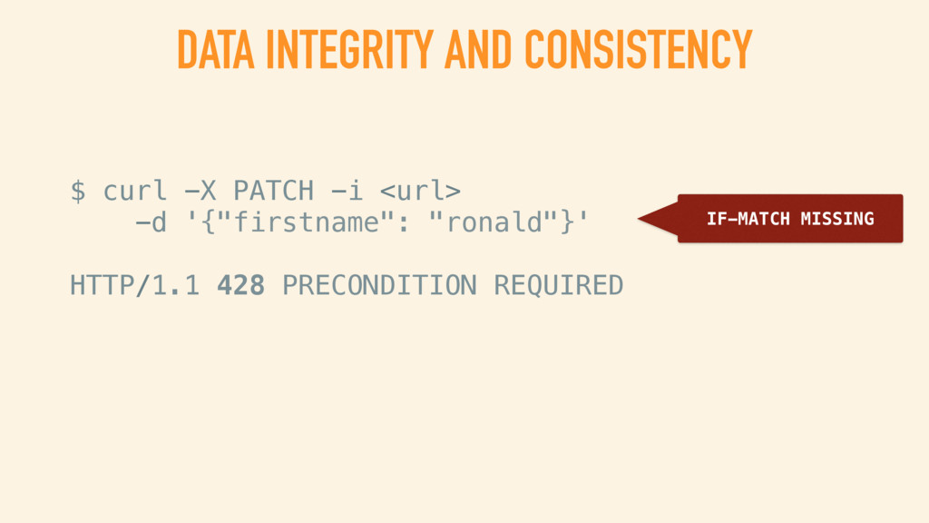 DATA INTEGRITY AND CONCURRENCY CONTROL NO OVERW...
