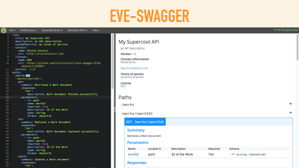 EVE-SWAGGER