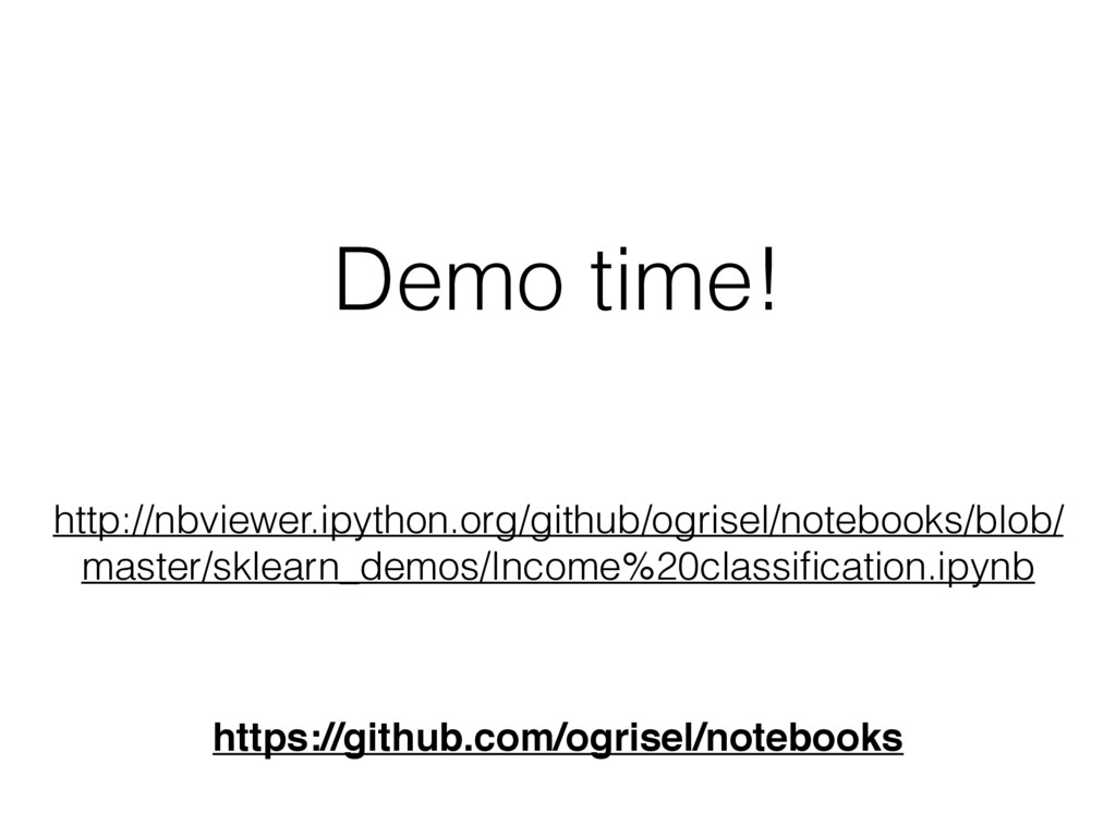Demo time! http://nbviewer.ipython.org/github/o...
