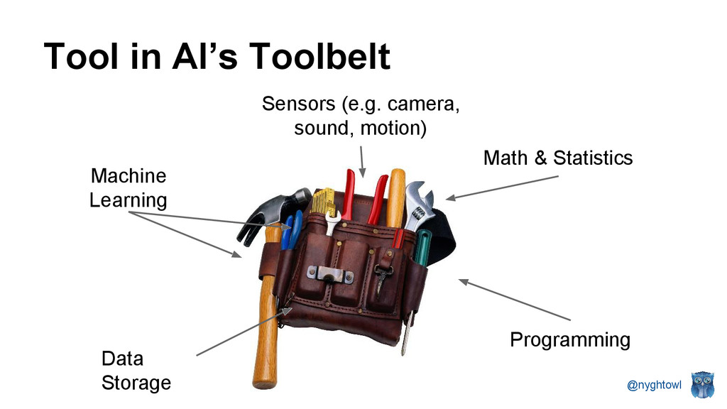 @nyghtowl Programming Tool in AI's Toolbelt Mat...