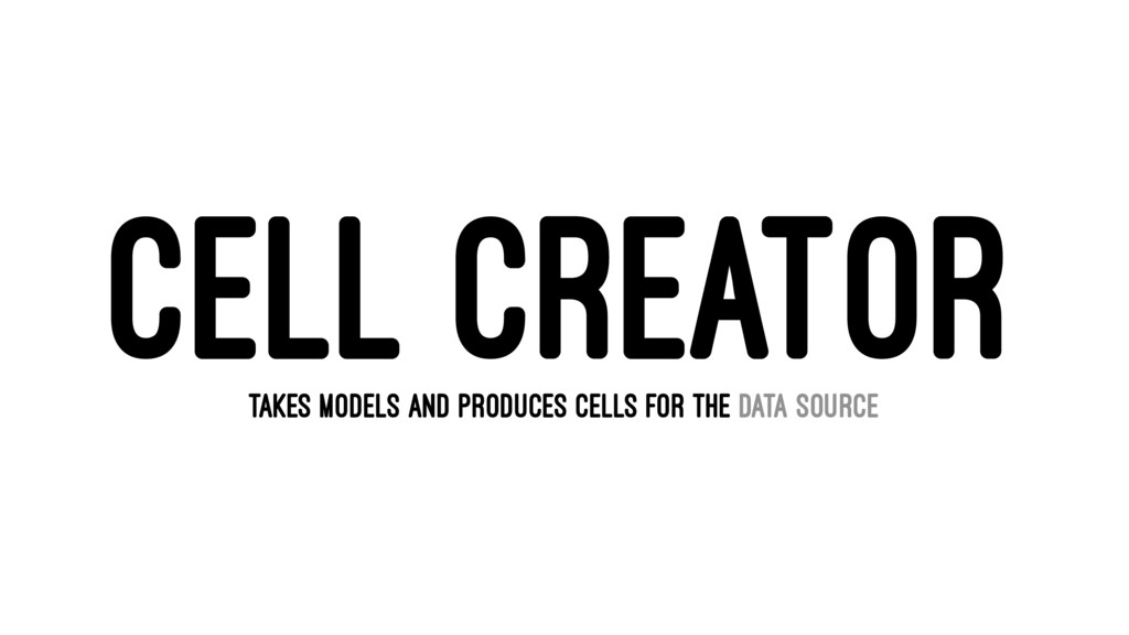 CELL CREATOR TAKES MODELS AND PRODUCES CELLS FO...