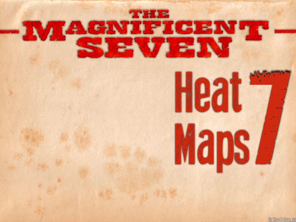 7 Heat Maps @