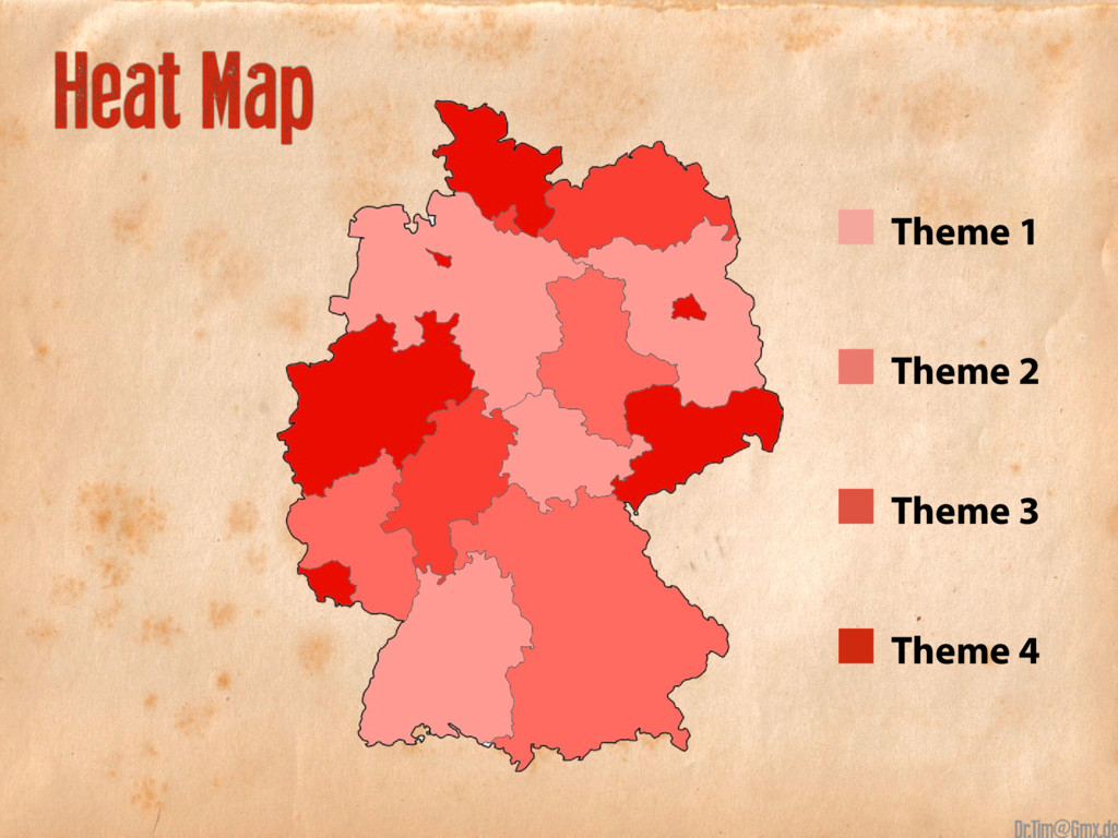 Heat Map Theme 1 Theme 2 Theme 3 Theme 4 @