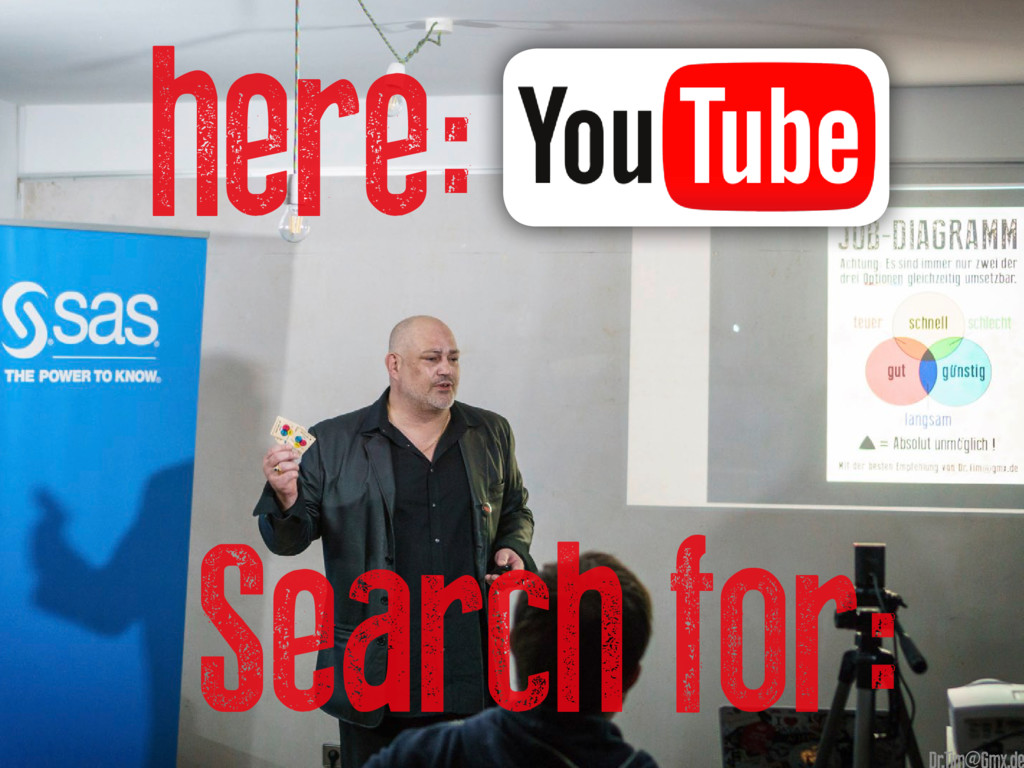 here: Search for: @