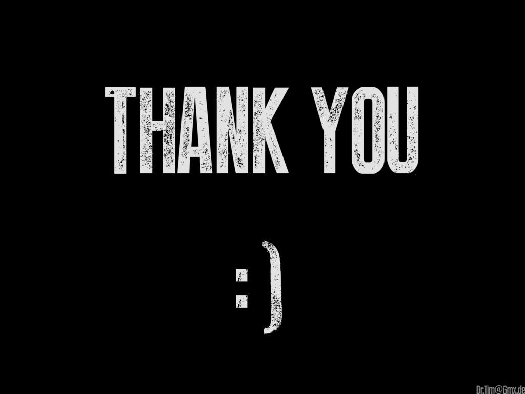 Thank you :) @
