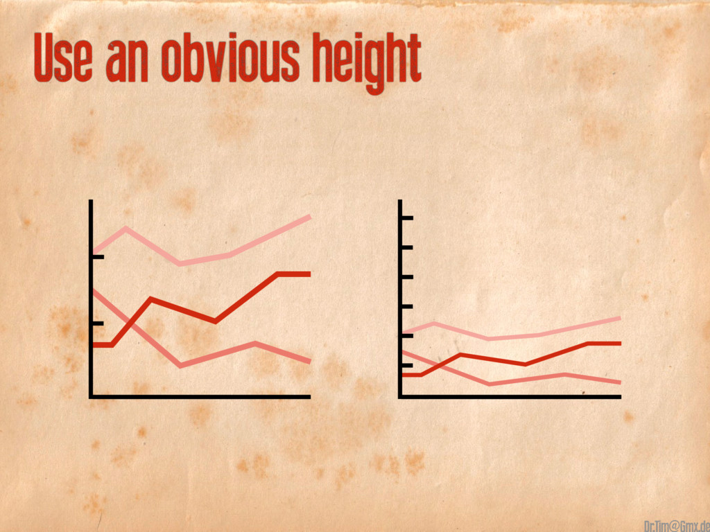 Use an obvious height @