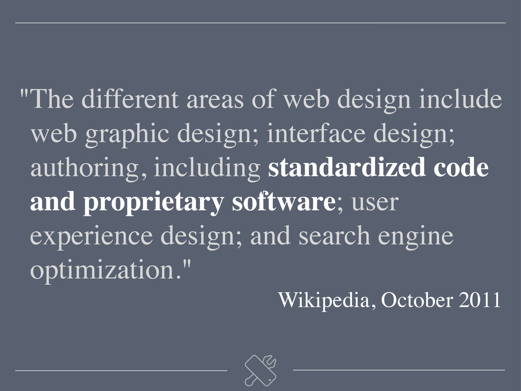 """The different areas of web design include ""web..."