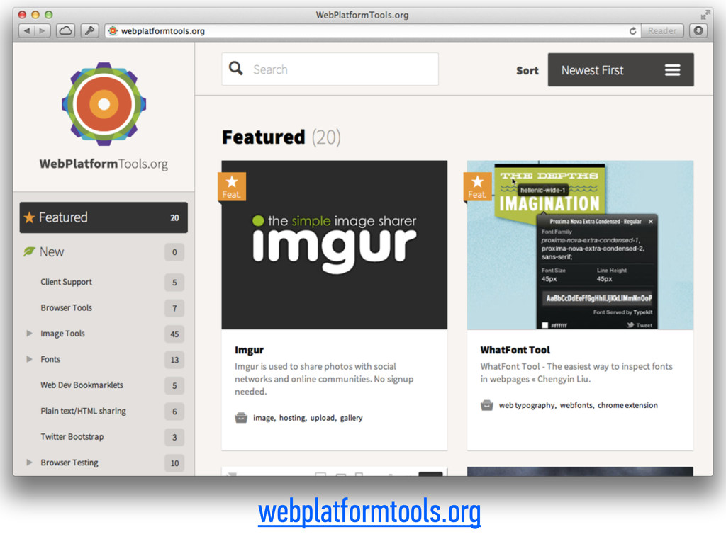 webplatformtools.org
