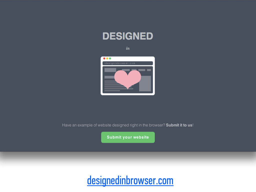 designedinbrowser.com