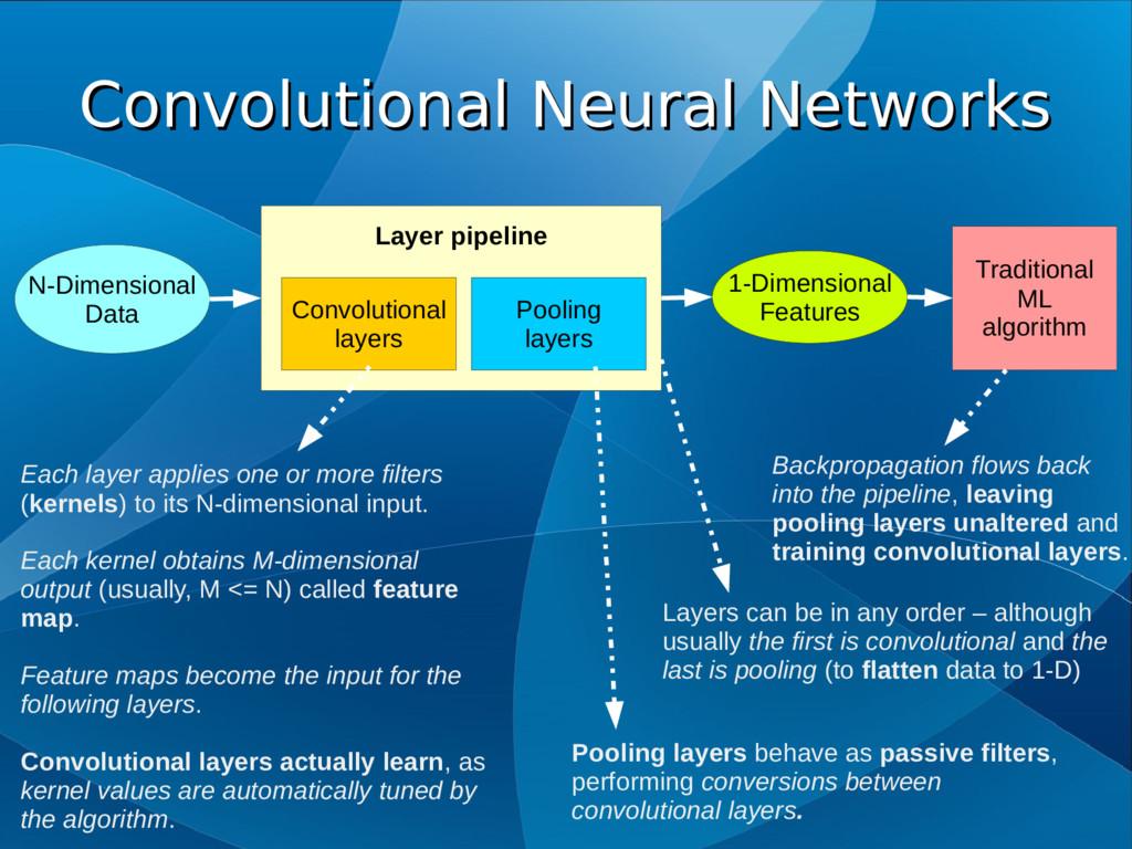 Convolutional Neural Networks Convolutional Neu...
