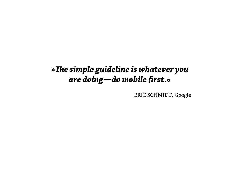 »e simple guideline is whatever you are doing—...