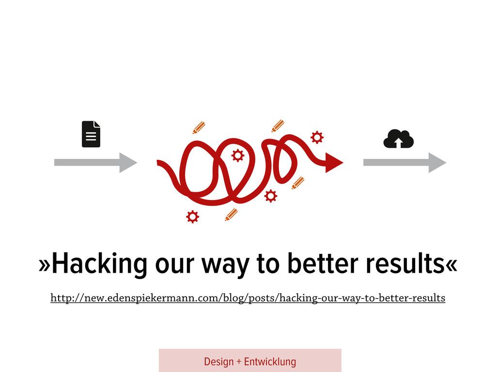 Design + Entwicklung http://new.edenspiekermann...
