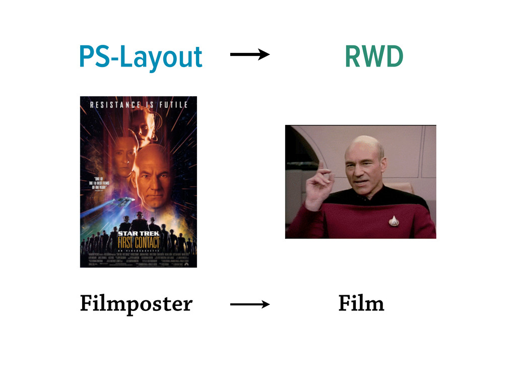 PS-Layout RWD Filmposter Film
