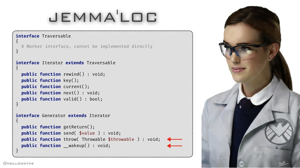 JEMMA'LOC interface Traversable { # Marker inte...