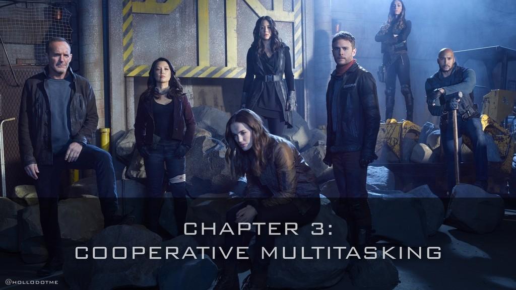 CHAPTER 3: COOPERATIVE MULTITASKING @hollodotme