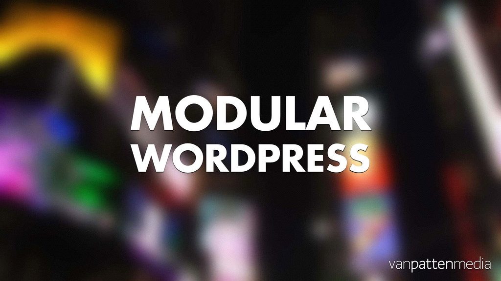 MODULAR