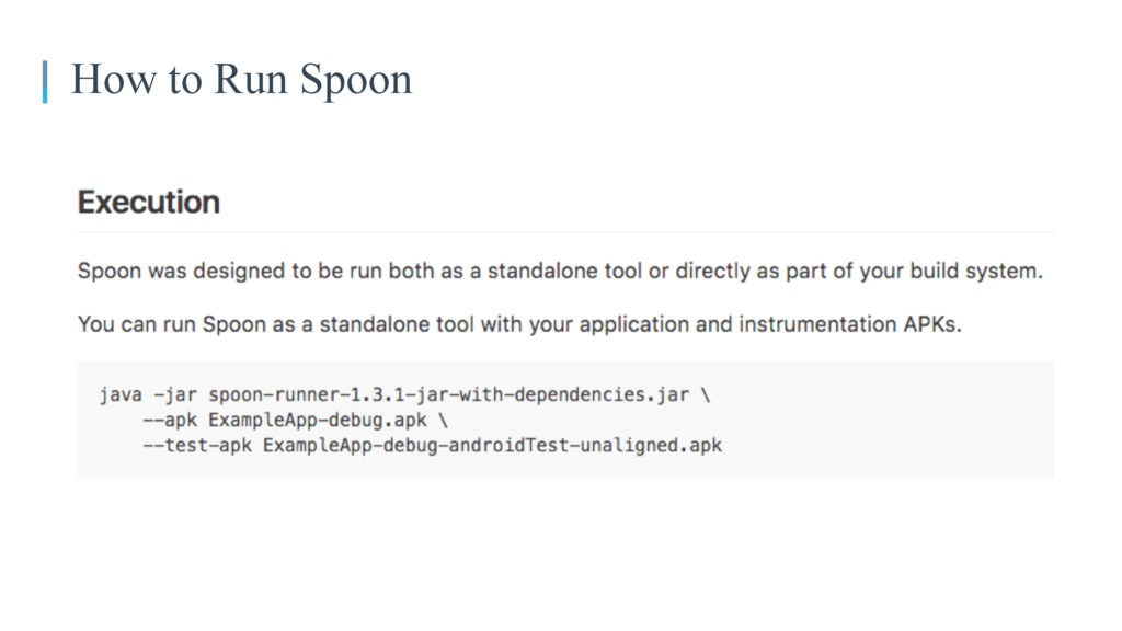How to Run Spoon