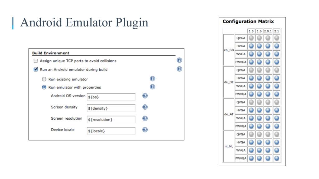 05 Android Emulator Plugin