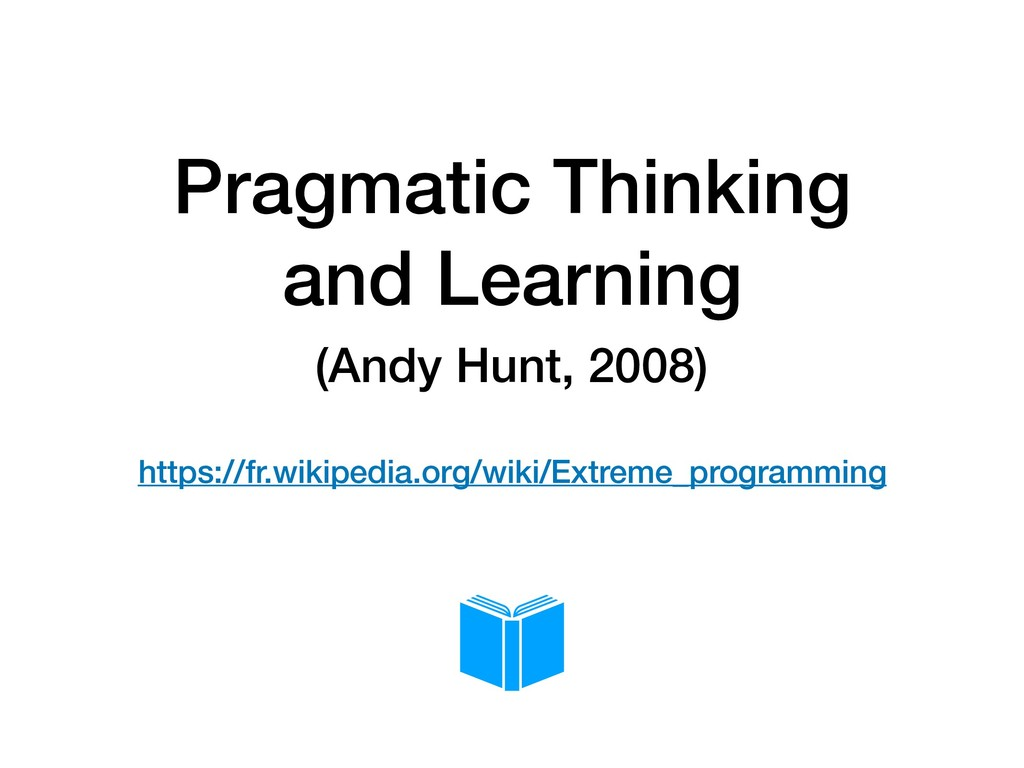 Pragmatic Thinking and Learning (Andy Hunt, 200...