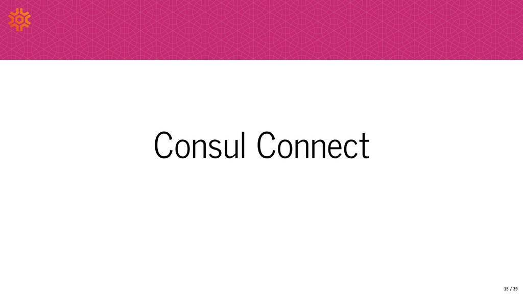 Consul Connect 15/39