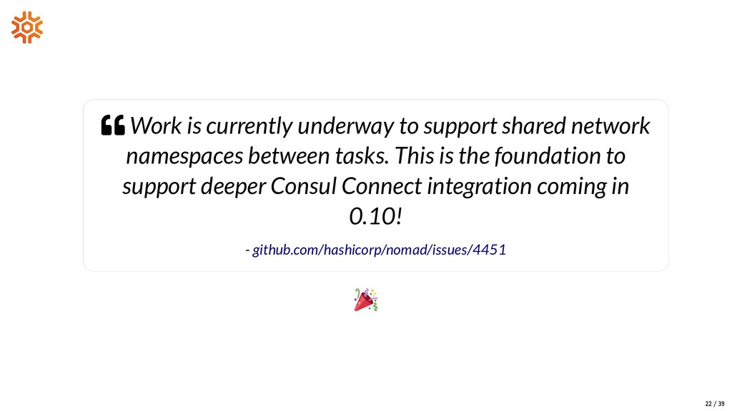  Work is currently underway to support shared ...