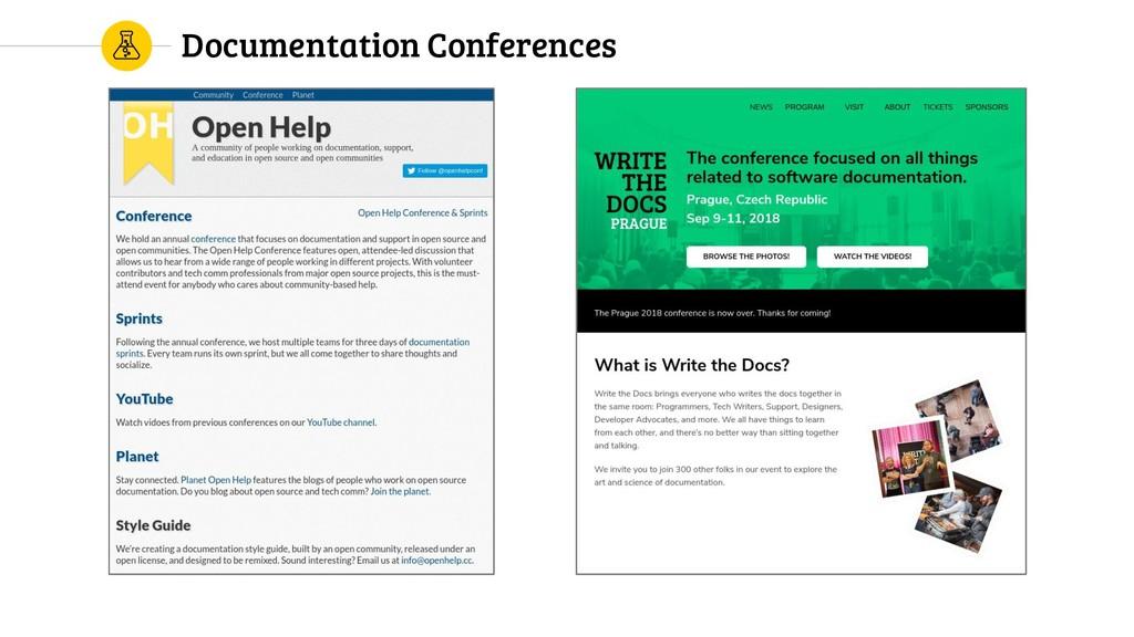 Documentation Conferences