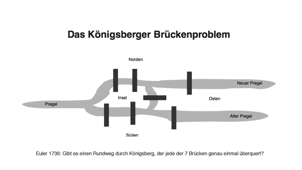 Euler 1736: Gibt es einen Rundweg durch Königsb...