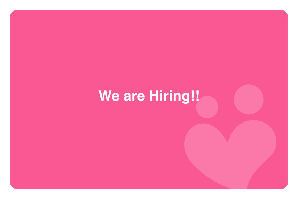 We are Hiring!! 20