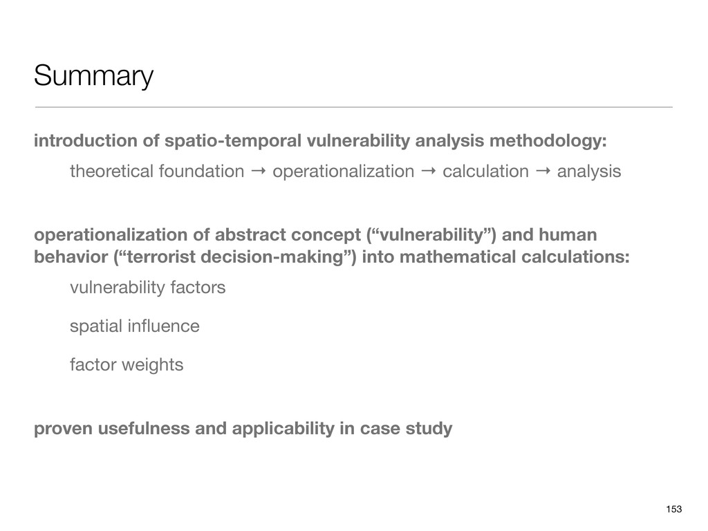 Summary introduction of spatio-temporal vulnera...