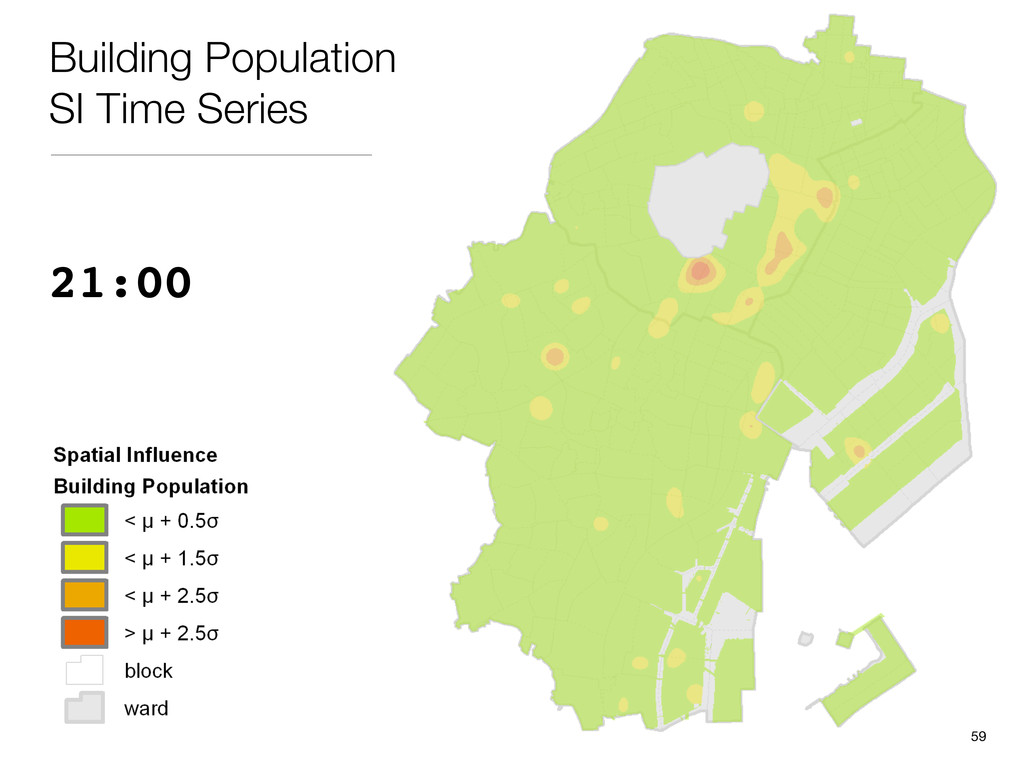 21:00 Building Population SI Time Series 59