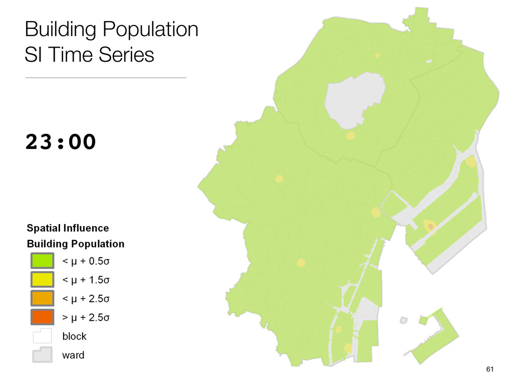 23:00 Building Population SI Time Series 61