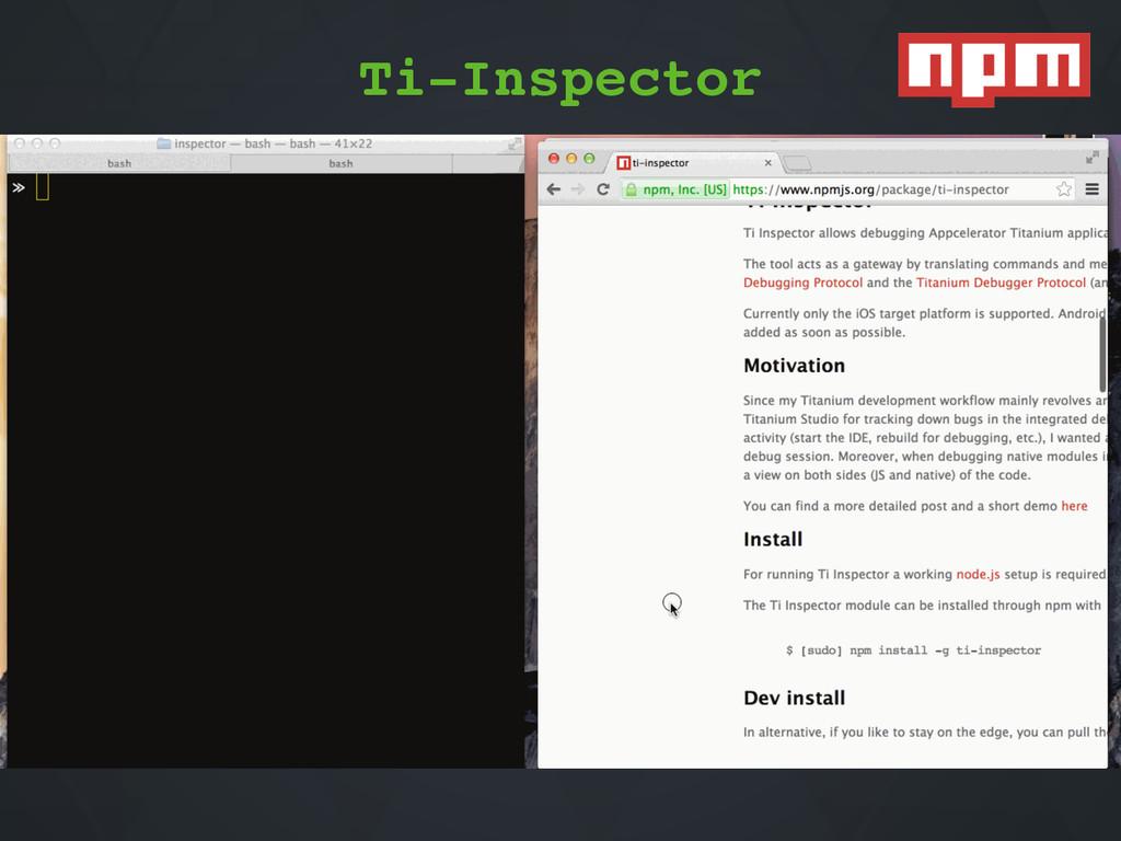 Ti1Inspector Ti-Inspector