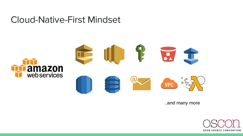Cloud-Native-First Mindset ..and many more