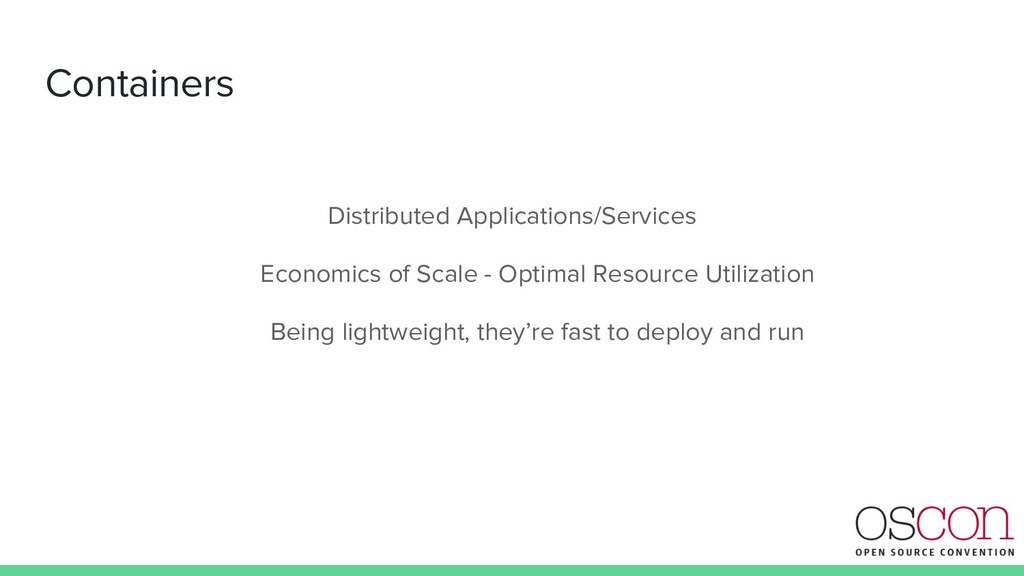 Containers Distributed Applications/Services Ec...