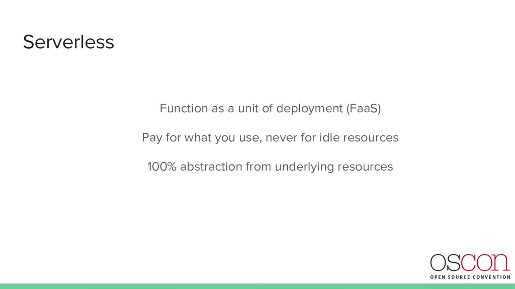 Serverless Function as a unit of deployment (Fa...