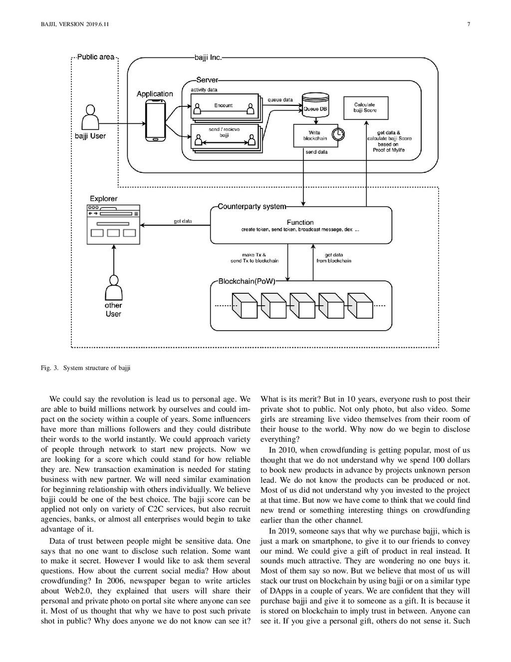 BAJJI, VERSION 2019.6.11 7 Fig. 3. System struc...