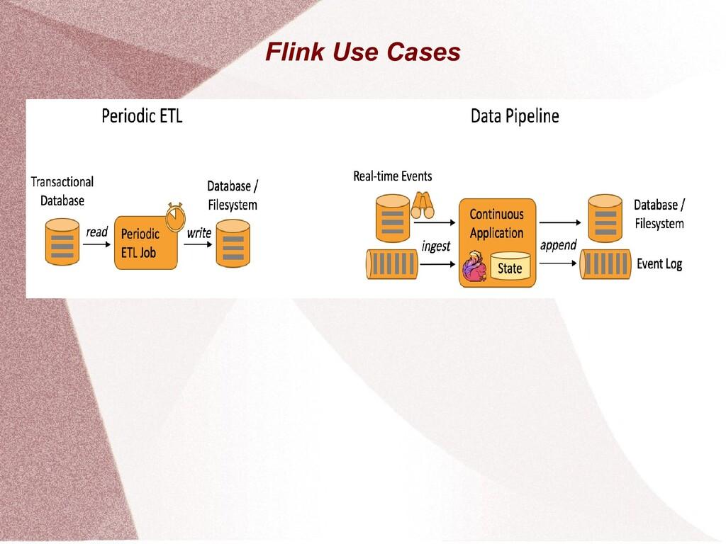 Flink Use Cases