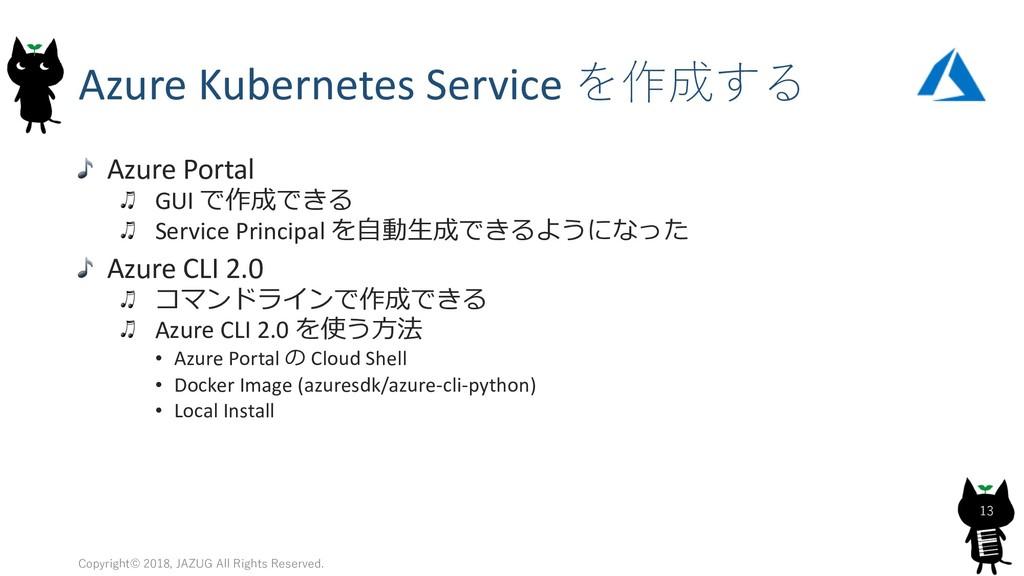 Azure Kubernetes Service  Azure Portal GUI...