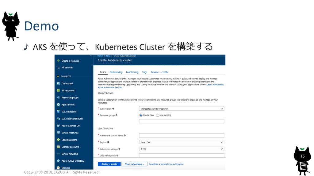 Demo AKS Kubernetes Cluster   51 0 , 2...