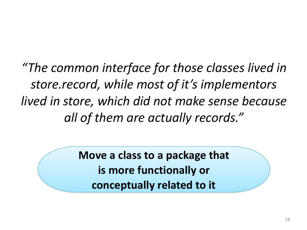 """16 """"The common interface for those..."""