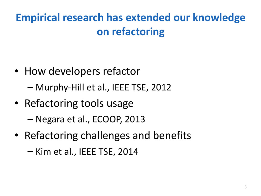 Empirical research has extended our...