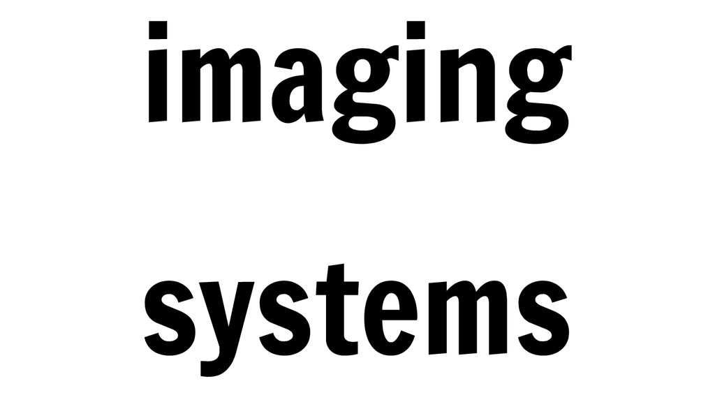imaging systems